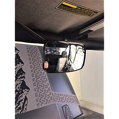Rear View Mirror for Mahindra Roxor by Maverick Advantage: Automotive
