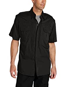 Propper Men's Short Sleeve Tactical Shirt, Black, 3X-Large Regular
