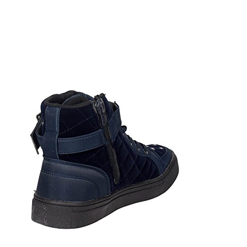 Braccialini 4030 Hoch Sneakers Damen Blau