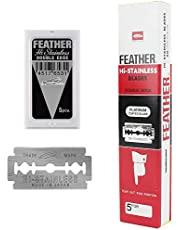 Feather Double Edge Safety Razor Blades 100 Count