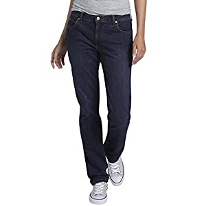 Dickies Women's Perfect Shape Denim Jean-Straight Stretch