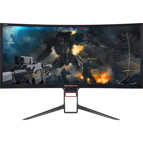 """Price comparison product image Acer Z35P 35"""" 4ms UW-QHD 21:9 (3440x1440) NVidia G-Sync 100hz (Certified Refurbished)"""