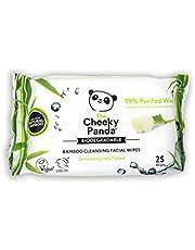 The Cheeky Panda – Gezichtsdoekjes, Rose Geurend | Pack van 25 doekjes | Make-up Remover, hypoallergeen, milieuvriendelijk, super zacht, vriendelijk voor huid en duurzaam