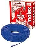 Finolex 1Sqmm Wire 90m coil - Blue
