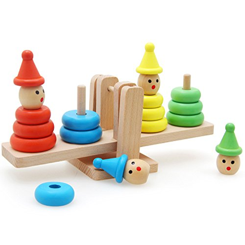 - Wooden Rainbow Snowman Stacker Blocks, Shape Color Sorter, Geometric Recognition Stacking Sorting Nesting Puzzle, Early Mathematic Montessori Learning Educational Developmental Toddler Toys (snowman)