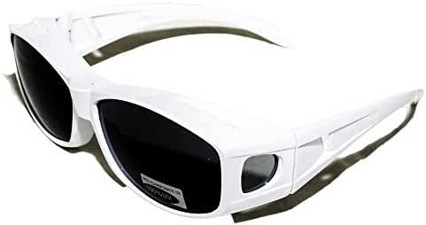 Over Glasses Sunglasses - Polarized Fitover Sunglasses with 100% UV Protection - By Pointed Designs