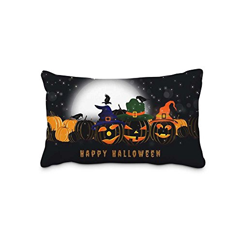 Festival Halloween Pillow Covers Protector Two Sides Standard