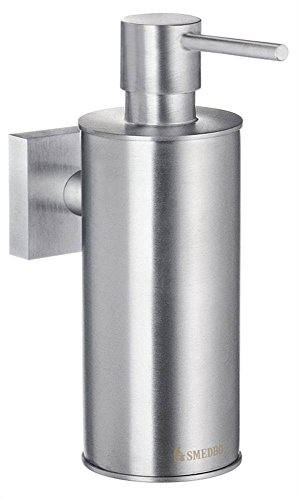 - Smedbo SME RS370 Soap Dispenser Wallmount, Brushed Chrome