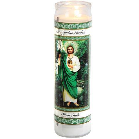 ML Warehouse 12 Religious Prayer Candles (St. Jude)