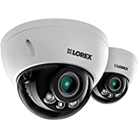 Lorex LND3374SB 2K 3MP dome security camera with motorized varifocal lens (2-Pack)