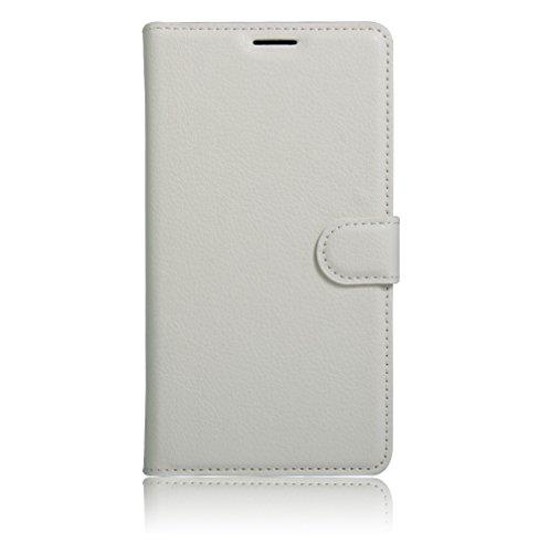 Funda Libro para BQ Aquaris X5 Plus, Manyip Suave PU Leather Cuero Con Flip Cover, Cierre Magnético, Función de Soporte,Billetera Case con Tapa para Tarjetas D