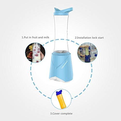 Électrique automatique Blender Portable multi-fonctionnel, de haute qualité sans BPA 304 ménages en acier inoxydable Juicer, 40 secondes rapide Centrifugeuses