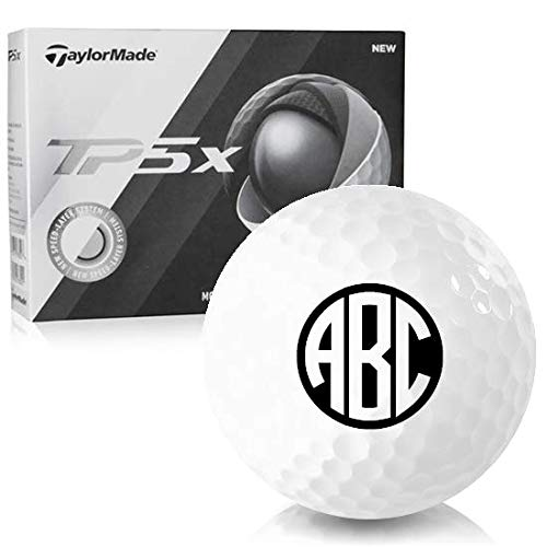 - Taylor Made TP5x Monogram Personalized Golf Balls