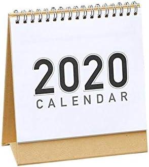 smileyshy 2020 Tischkalender, 2020 Taifun-freie Tischkalender, Tischkalender, Plan Memo, DIY Handbemalte Notizblock Kalender
