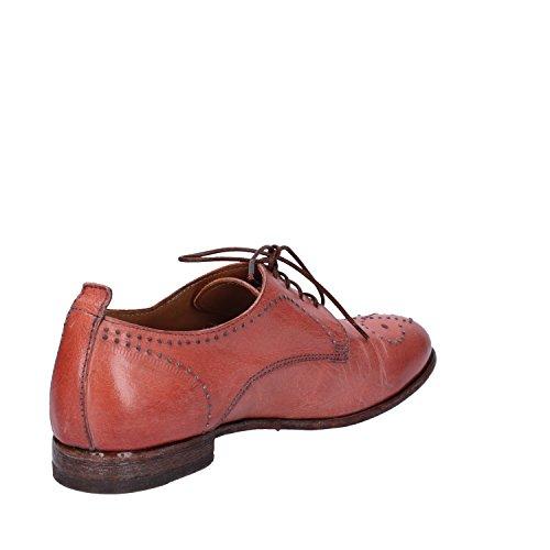 Rosa Elegantes Cuero Zapatos Mujer Moma wB6TUYW