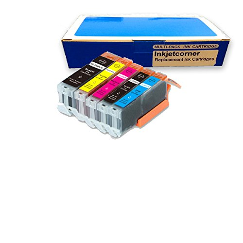 Inkjetcorner 5-Pack Compatible Ink Cartridge Replacement ...