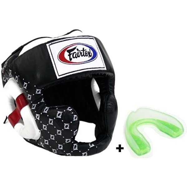FAIRTEX HG10 MUAY THAI KICK BOXING MMA HEADGUARD Protective Gear SUPER SPARRING