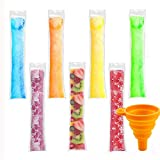 Best Ice Popsicles - 200 Pieces Ice Popsicle Molds Bags,Zip-Top Disposable DIY Review