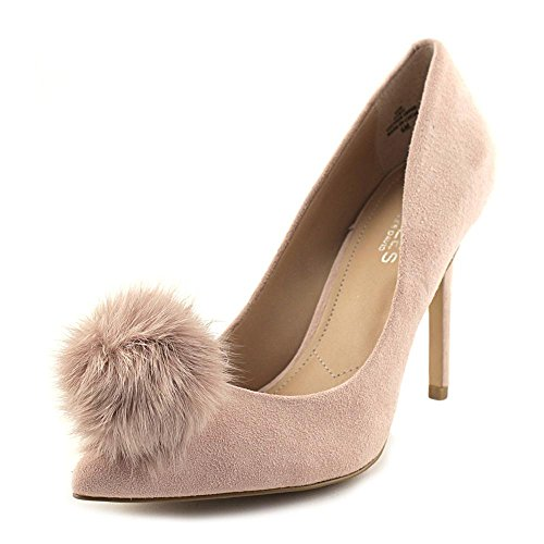 CHARLES BY CHARLES DAVID Womens Pixie Suede, Blush-Sf Suede-Fur, Size 8.5
