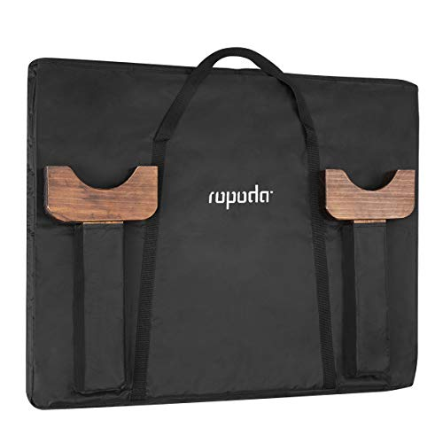 ROPODA Giant Wooden 4 in a Row Game - 3 Foot Width - with Coins, Portable Carry Case -Fun for Kids and Adults – Upgraded Vantage Style