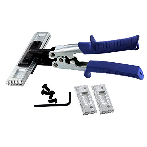(MIDWEST Seamer Set - 3 & 6 Inch Straight Sheet Metal Bender Set with Forged Blades & KUSH'N-POWER Comfort Grip Handle -)
