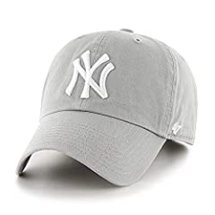 Top off your game day gear with this Clean Up hat by 47 Brand! This relaxed fit garment washed hat is made of 100% cotton twill and features high quality embroidery, team loop label, and an adjustable slide closure. Officially licensed by MLB...