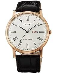 ORIENT Capital 2 Classic Design Slim Quartz Roman Dial Dress Watch UG1R006W