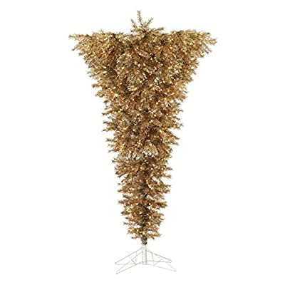 Vickerman 7.5 ft. Metal Mix Upside-Down Christmas Tree