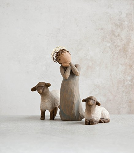 Willow Tree Little Shepherdess, 3-piece set of figures by Susan Lordi 26442