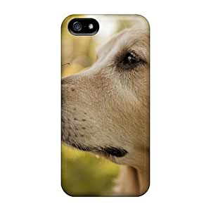 Waterdrop Snap-on Dog Butterfly Case For Iphone 5/5s