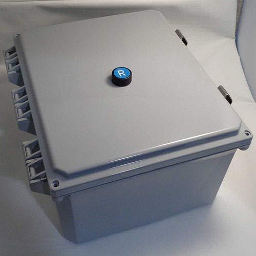 Springer Controls, JC5016R1K-JE, Enclosed AC Motor Starter, Single Phase, 3.0 HP, 115V ()