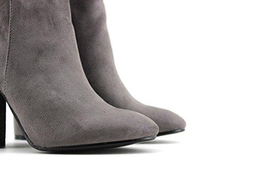 MODELISA, Damen Stiefel & Stiefeletten Grau