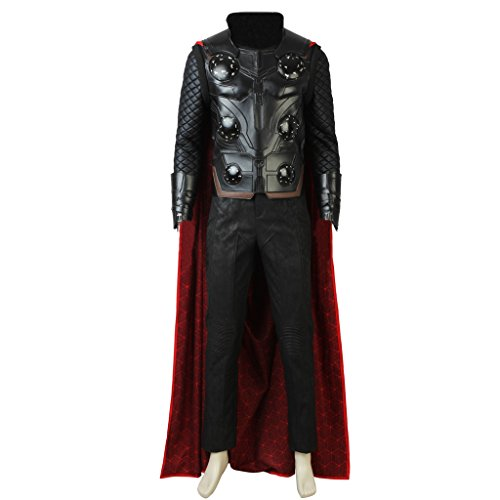 CosplayDiy Men's Suit for Avengers: Infinity War Thor Cosplay Costume XL -