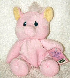 Pink Pig by Enesco Precious Moments Tender Tails