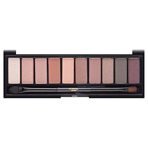 ロレアルパリカラーリッシュラパレットのアイシャドウ、ヌードバラ x4 - L'Oreal Paris Color Riche La Palette Eyeshadow, Nude Rose (Pack of 4) [並行輸入品] B071V81R7T
