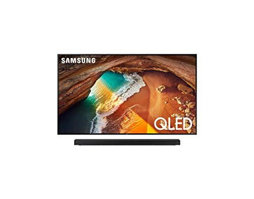(Samsung QN75Q60RAFXZA Flat 75'' QLED 4K Q60 Series (2019) with Harman Kardon HW-Q60R Samsung Acoustic Beam Q60R Series Soundbar)
