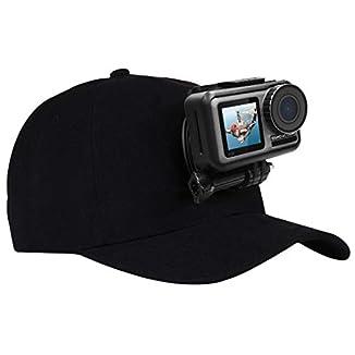 Gorra con soporte para GoPro para ir en kayak y grabar video mientras paleas y consigues un buen plano