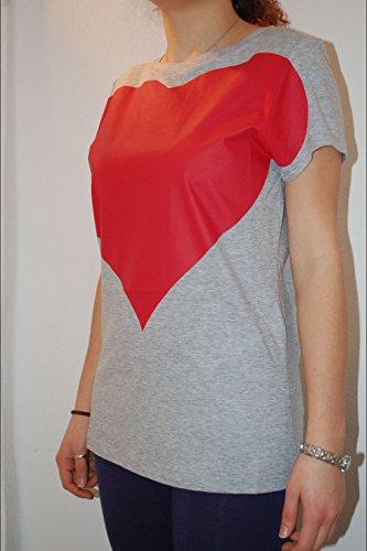 TWIN SET - Camiseta - para mujer gris