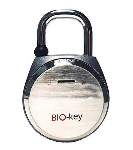 TouchLock Bluetooth Smart Padlock Silver