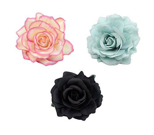Lovefairy Beautiful Rose Flower Hair Clip Pin up