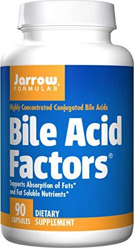 Jarrow Formulas Bile Acid Factors, Supports Absorption of Fats, 90 Caps