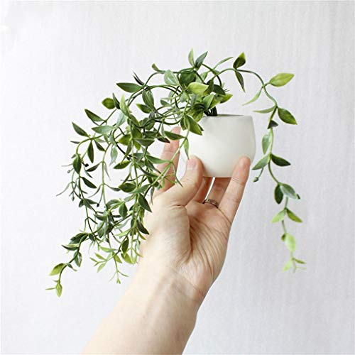 Voberry Artificial Flower Succulent Plant Refrigerator Magnets Fridge Stickers Creative Funny for Office Home Green Plant Decorative