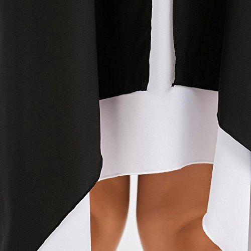 gonna Abito abito lunga estivo donna ragazza abiti eleganti lunghi vestito mini lungo Nero elegante beautyjourney cerimonia sling estivi tumblr forti donna donna taglie donna lungo Vestiti HqwUxf1Yw