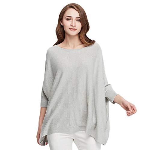 Size Maglione 65 Kg Da Con Peso Per colore Cappuccio Gkkxue Collo Manica Gray Pink Felpa Donna One A Adatto Dimensioni Lunga 50 RqZW6dZ