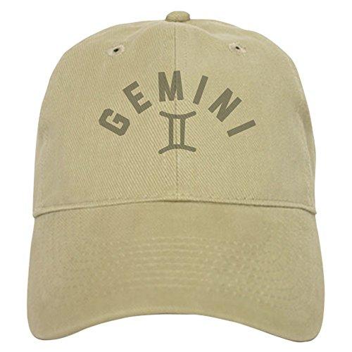 CafePress Gemini - Baseball Cap with Adjustable Closure, Unique Printed Baseball Hat