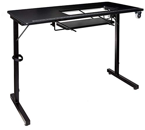 (SewingRite 101 SewStation Sewing Craft Table - Black)