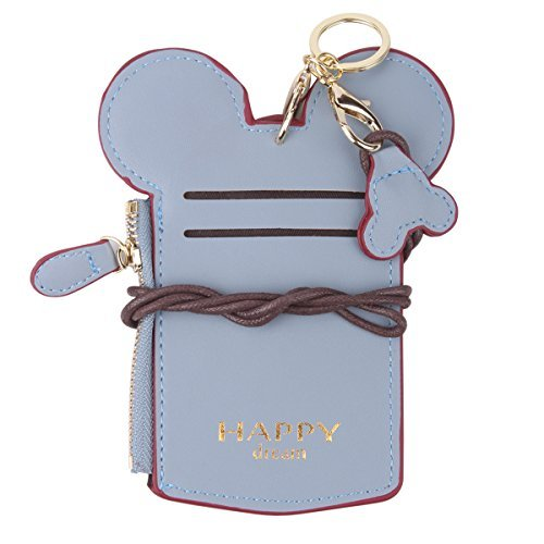 Holder Shape Card (Neck Pouch - Travel Neck Wallet Student Card Holder Wallet Purse Neck Bag Anti-Theft Hidden Wallet With Coin Wallet Purse For School Students Women Kids Teens Girls (Light Blue))