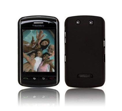 GOGO BlackBerry Storm Velvet Touch Ultra Slim Case - Black (Case Blackberry Storm)