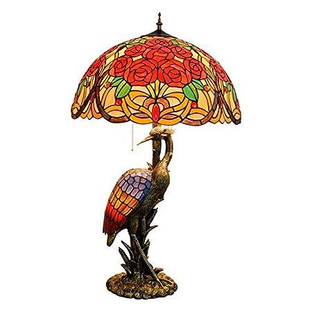 QCKDQ 20 Pulgadas de lámpara de Mesa, lámpara de Mesa Estilo ...