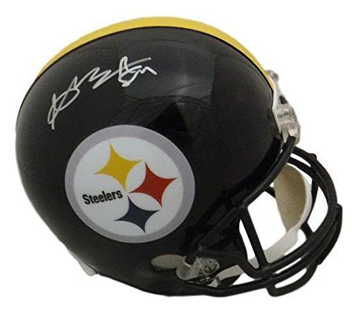 Autographed Antonio Brown Helmet Full Size Replica 16852 JSA Certified Autographed NFL Helmets